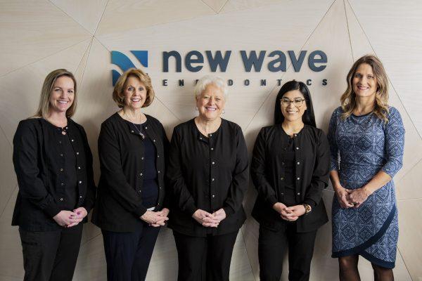 Christy Pirraglia Business Manager, Jaynee Cavanaugh Receptionist, Tami Ashmore Dental Assistant, Jessie Harness Dental Assistant, Caci Liebentritt Endodontist